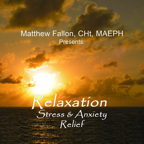 Relaxation ~ Stress & Anxiety Relief (Audio CD)