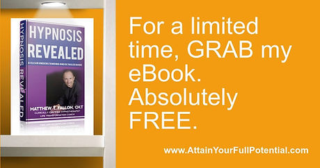 Free ebook from Matthew Fallon, Colorado Springs best hypnotist