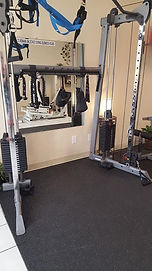 Body Solid functional trainer, with TRX