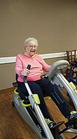 In-home senior fitness training