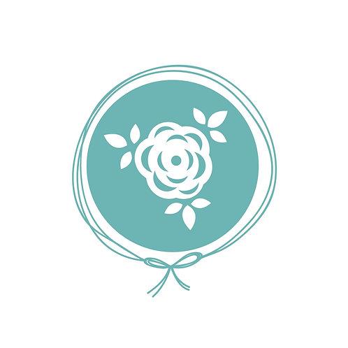 Manta Plush Solteiro - Floral