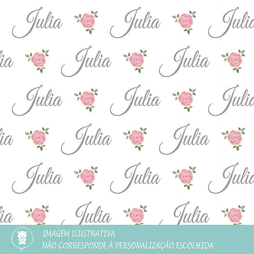 Kit Saída de Maternidade + Manta Plush - Floral