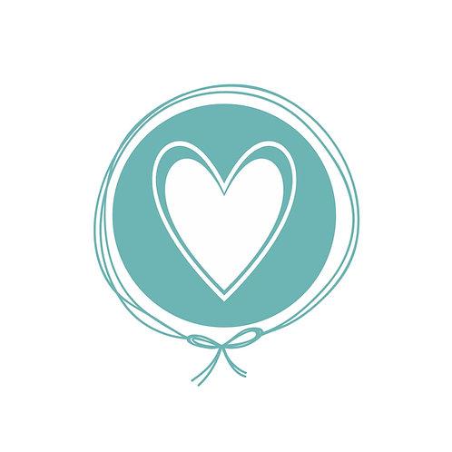 Touca Tricot - Coração