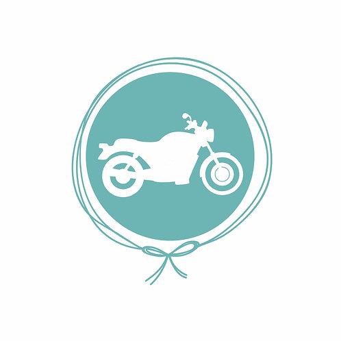 Cueiro em Malha Algodão - Moto