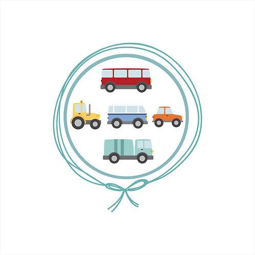 Manta Plush Solteiro - Transportes