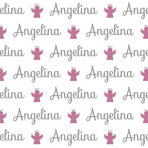 EXPRESS - Manta Plush Bebê - Angelina / Anjinho