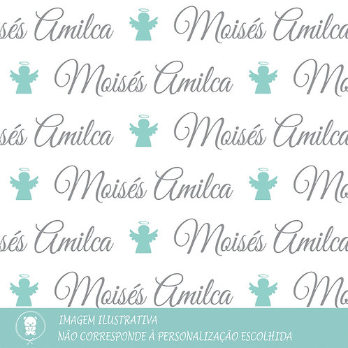 Kit Saída de Maternidade + Manta Plush - Anjinho