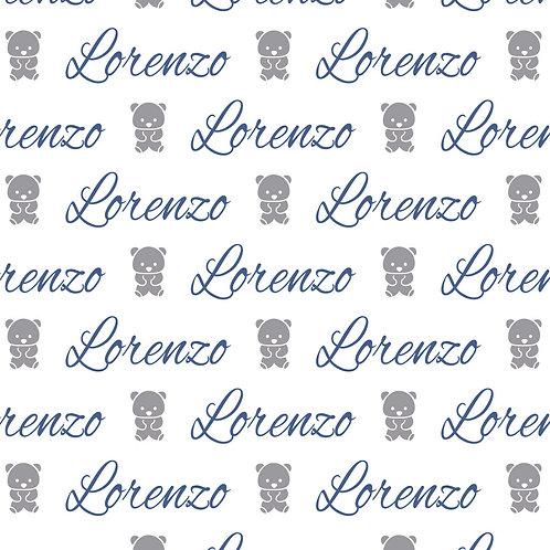EXPRESS - Naninha Plush com Urso - Lorenzo / Urso