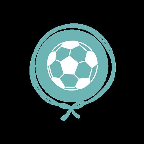 Manta Plush Solteiro - Futebol