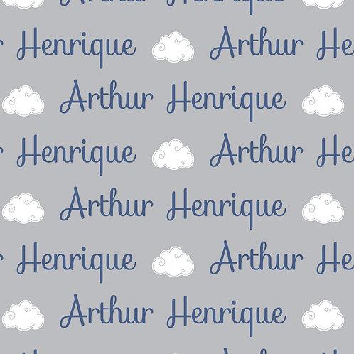 EXPRESS - Manta Plush Bebê - Arthur Henrique / Nuvem
