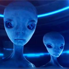 Compassion For an Alien, Aliens, spaceship, planet, sun, space travel, sacrafice, ritual, blue alien,