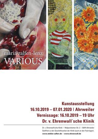 Plakat zur Ausstellung 2019