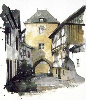 Tor zum Hirtenturm in Blankenheim