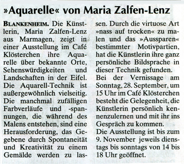Wochenspiegel 24.09.2014