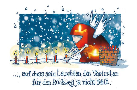 "Kartenmotiv ""Lichtweg 2"""