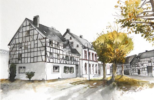 Dorfplatz Olef