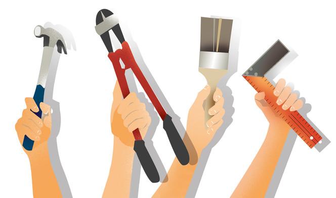Auswahl Werkzeuge
