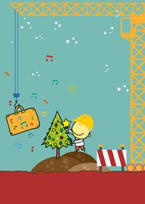 Andantino feiert Weihnacht auf der Baustel