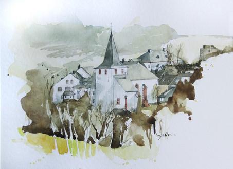 Kirche in Kronenburg