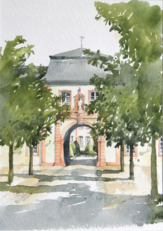 Innentor im Kloster Steinfeld