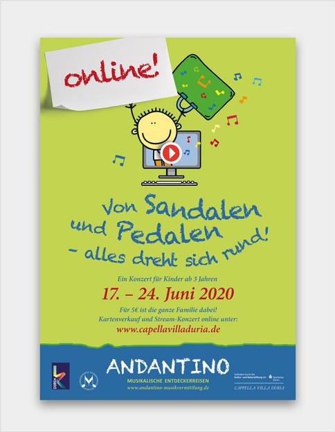 Andantino geht online