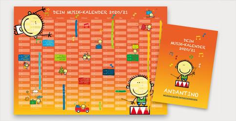 Andantino Jahreskalender 2020/21