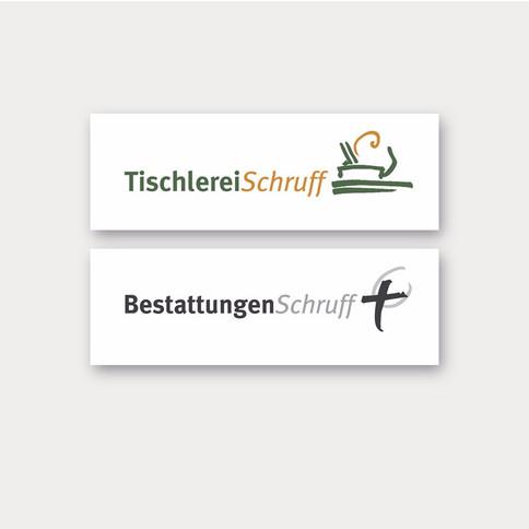 Logo Tischlerei/ Bestattung
