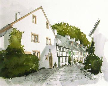 Burgbering im historischen Ortskern Kronenburg