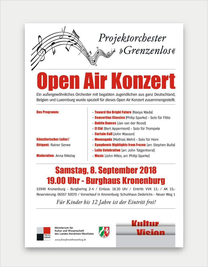 Plakat/ Flyer