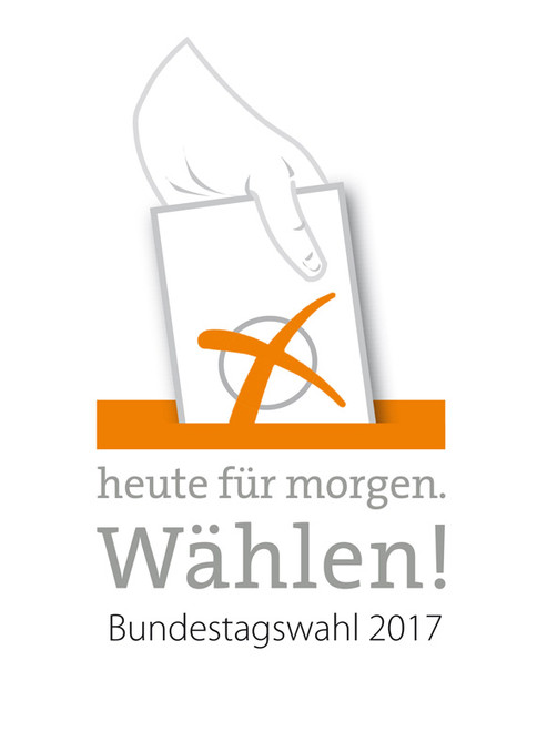 Aktionszeichen zur Bundestagswahl 2017