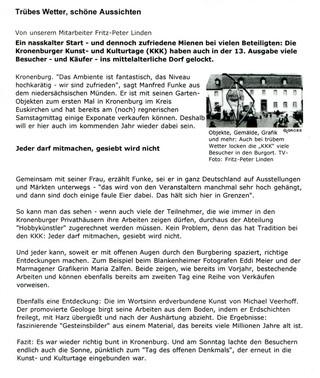 Trierer Volksfreund 15.09.2008