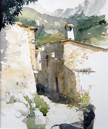 Bergdorf auf Mallorca