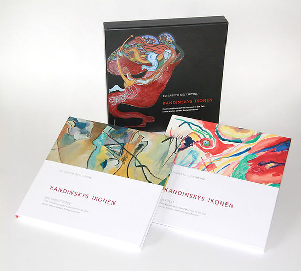 Buch Dr. Elisabeth Geschwind Kandinskys Ikonen