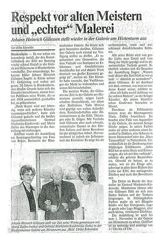 Kölner-Stadt-Anzeiger 26.09.1995