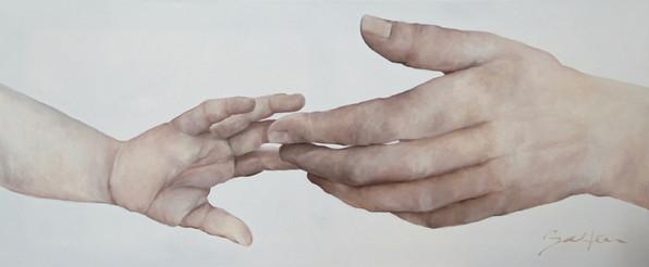 Gib einem Kind die Hand