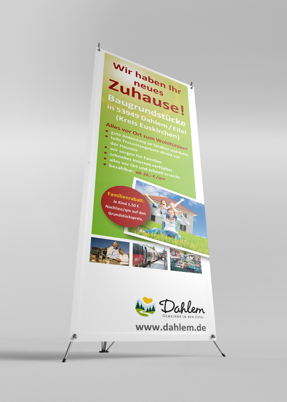 X-Stand-Banner