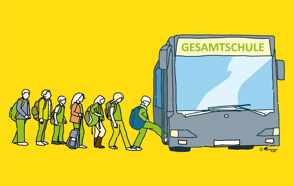 Infografik Bus