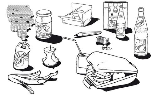 Auswahl SW Illustrationen
