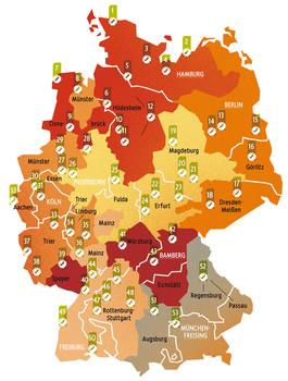 Hndwerkskammern in Deutschland