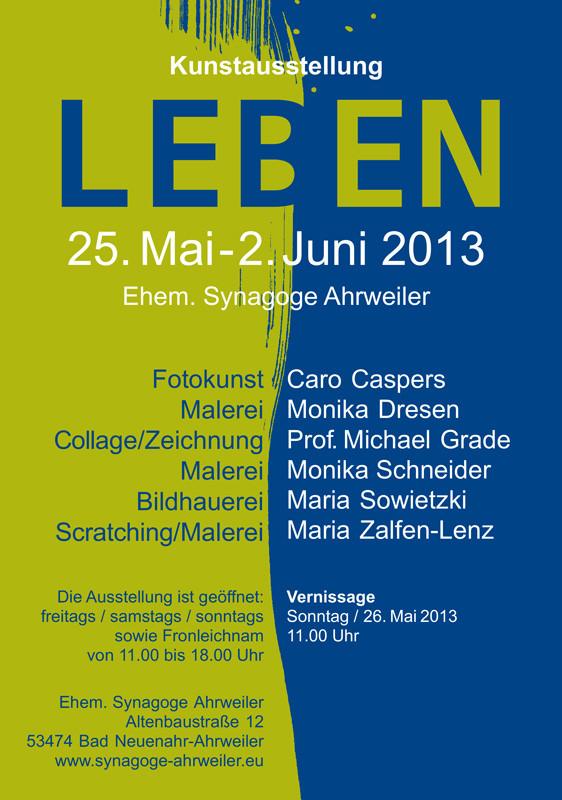 Plakat zur Ausstellung 2013