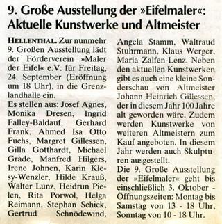 Wochenspiegel 22.09.2010