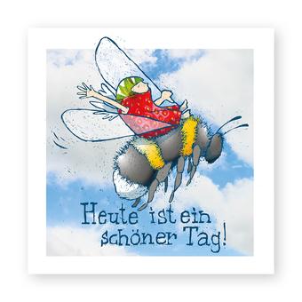 "Kartenmotiv ""Schöner Tag"""