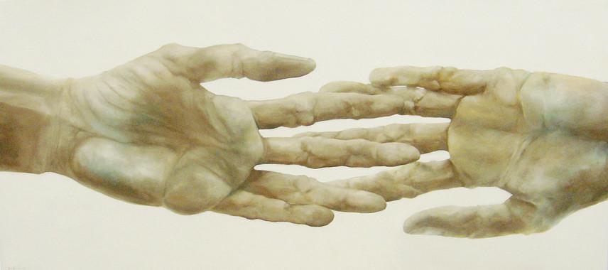 Zwei linke Hände