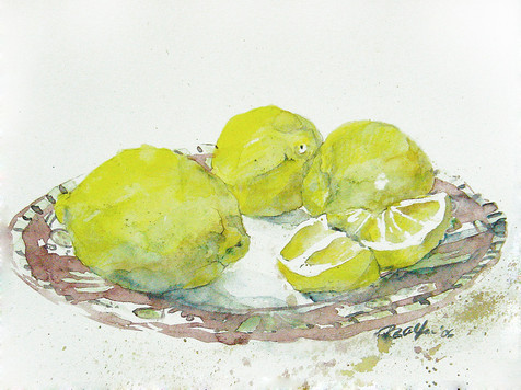 Zitronenteller
