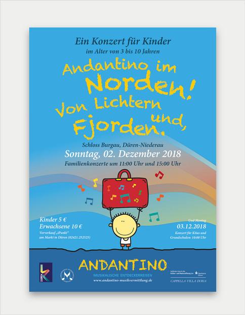 Andantino Konzertplakat