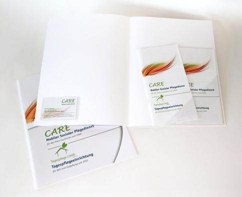 Präsentationsmappe Care