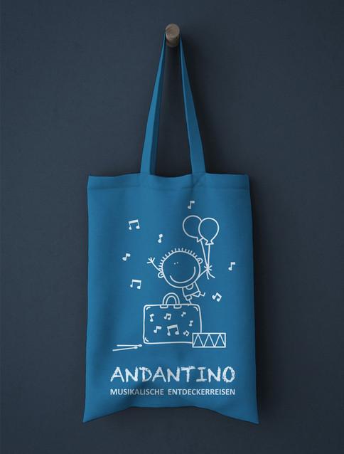 Andantino Baumwolltasche