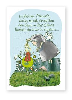 """Kartenmotiv """"Kleiner Mensch"""""""