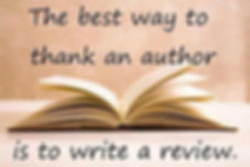 best way to thanks an author