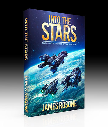 Into The Stars (Book 1) + Option to add special edition coin